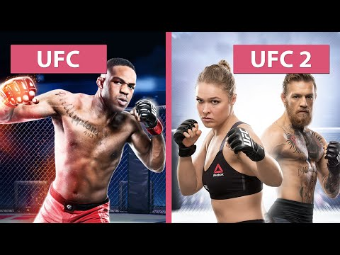 UFC Vs. UFC 2 – Graphics Comparison Captured On PS4