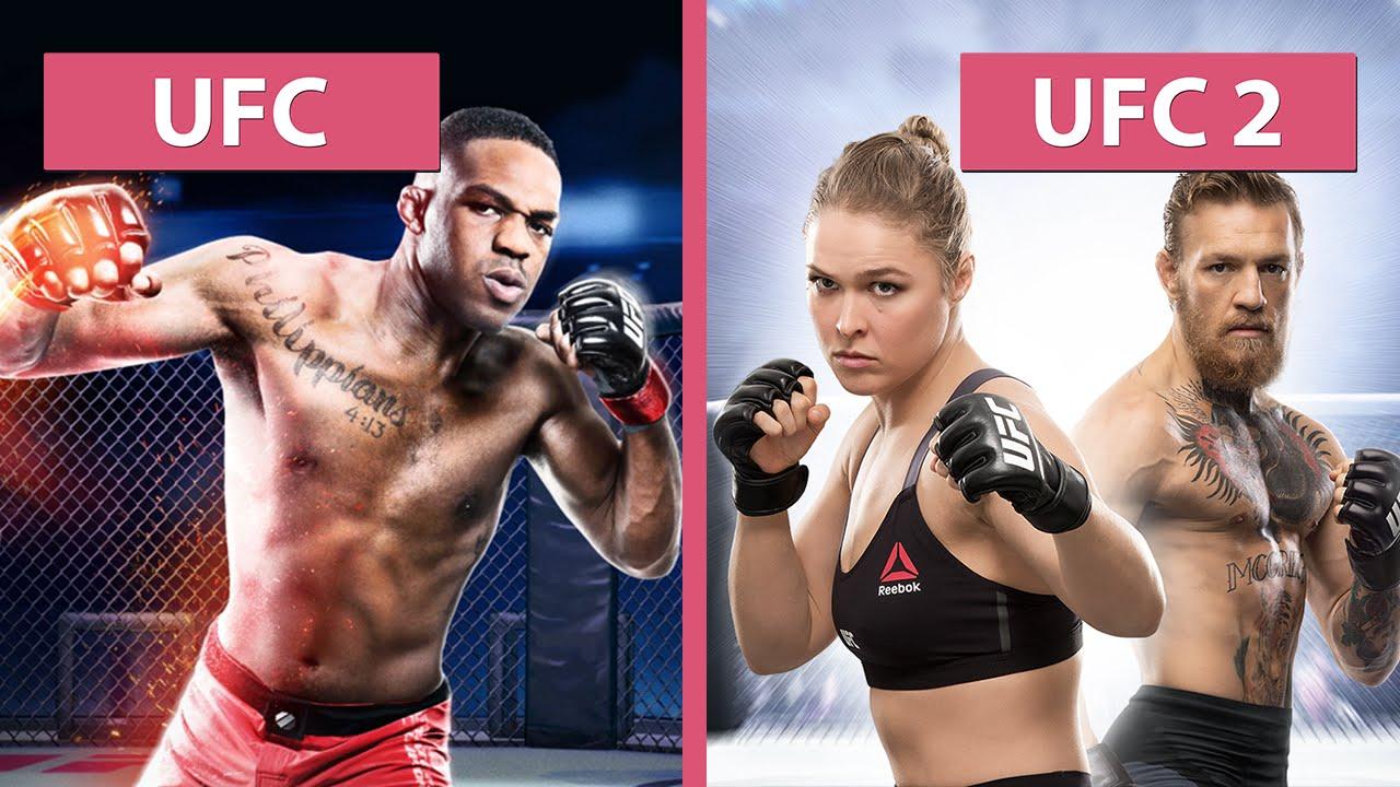 UFC vs. UFC 2 – Graphics Compa...