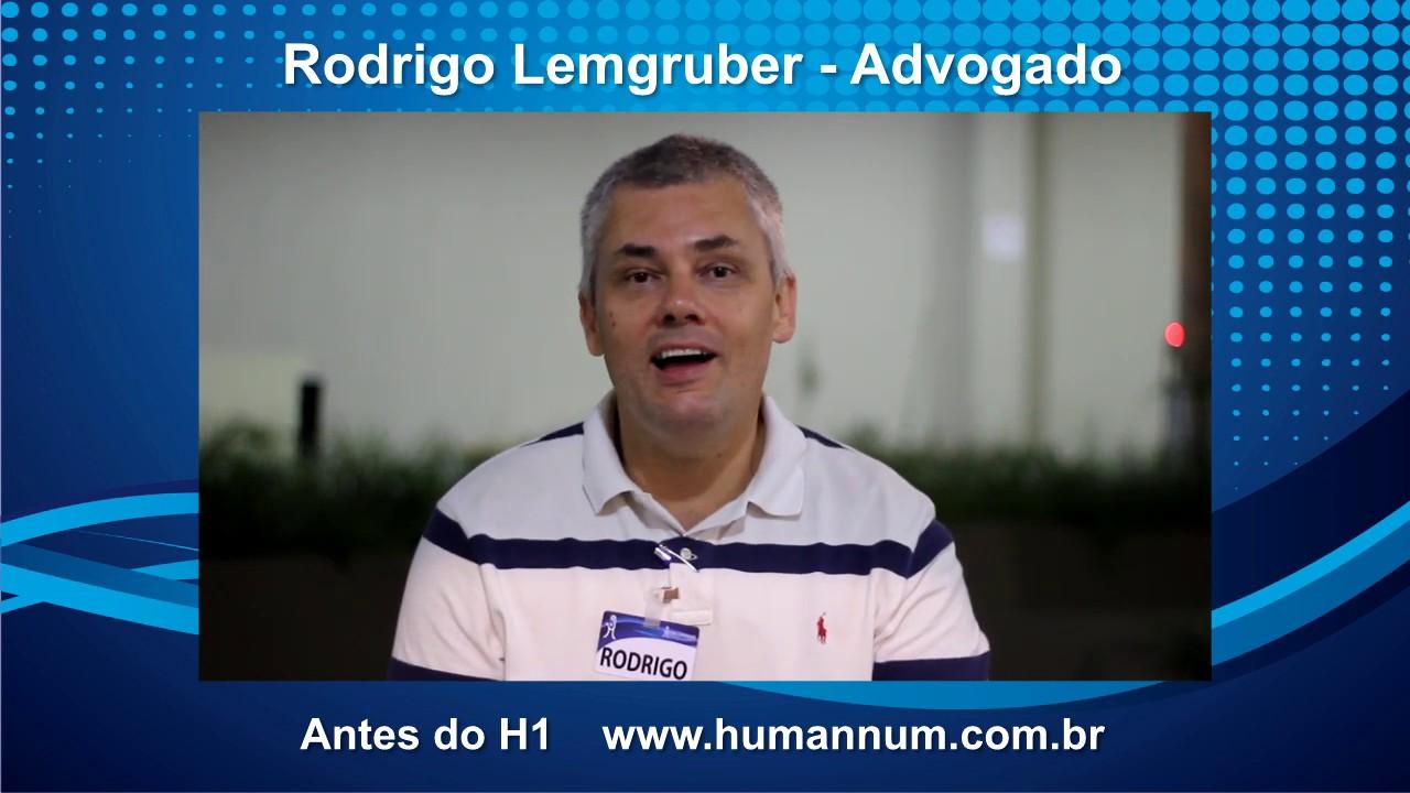 Depoimento Treinamento H1 - Rodrigo Lemgruber