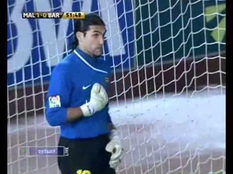 Jose Manuel Pinto funny save penalty