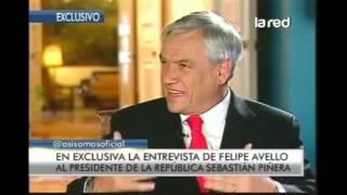 La hilarante y exclusiva entrevista de Felipe Avello a Sebastián Piñera parte 1