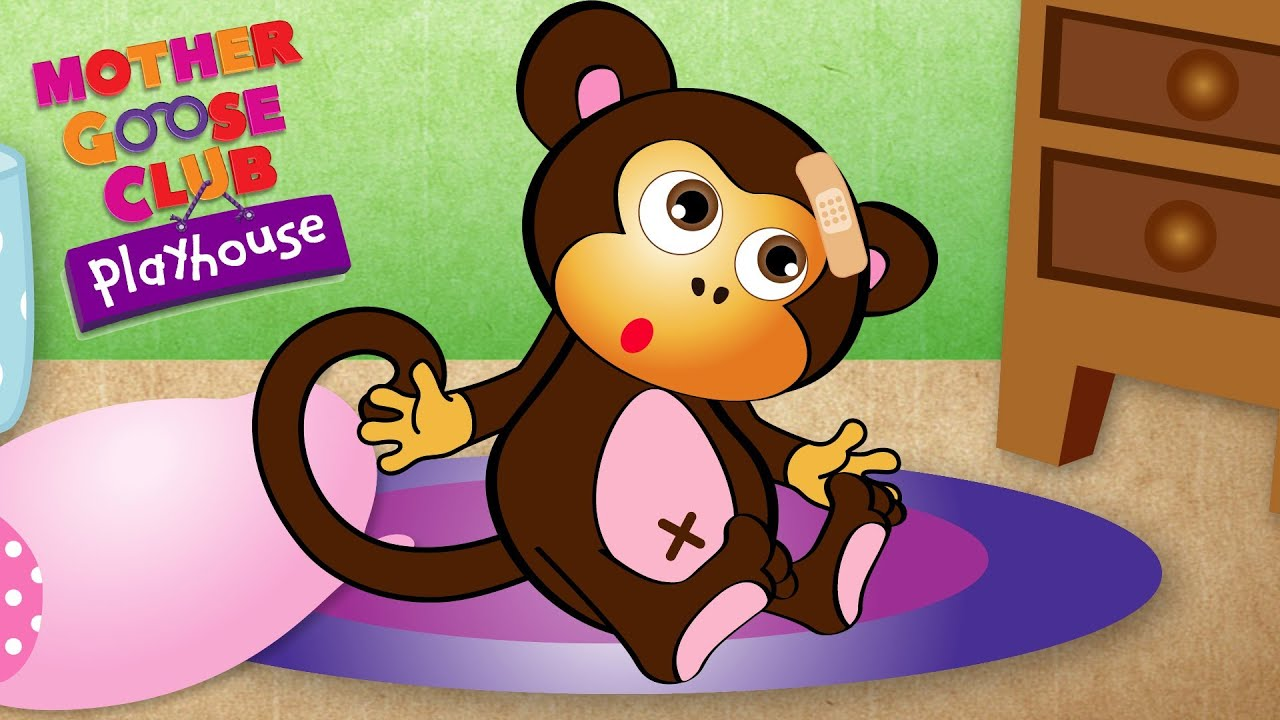 Five Little Monkeys Mother Goose Club Playhouse Youtube