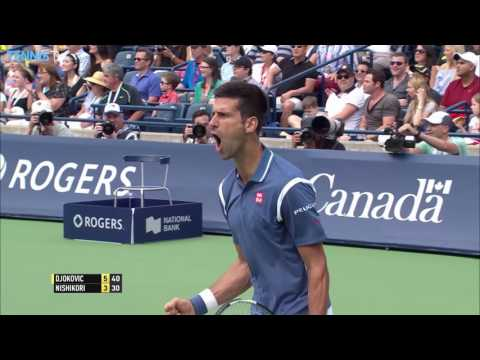 Djokovic Tops Nishikori Toronto 2016 Final Highlights
