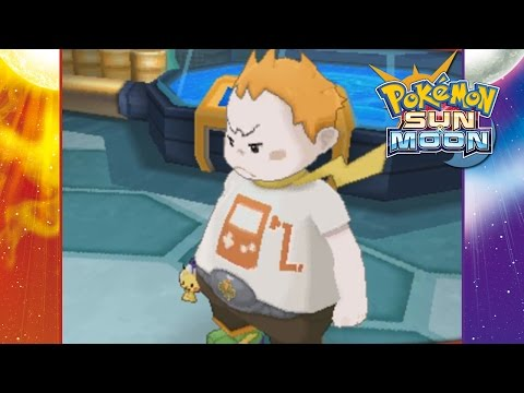 Pokemon Sun and Moon - Part 23 | Captain Sophocles Island Trial!