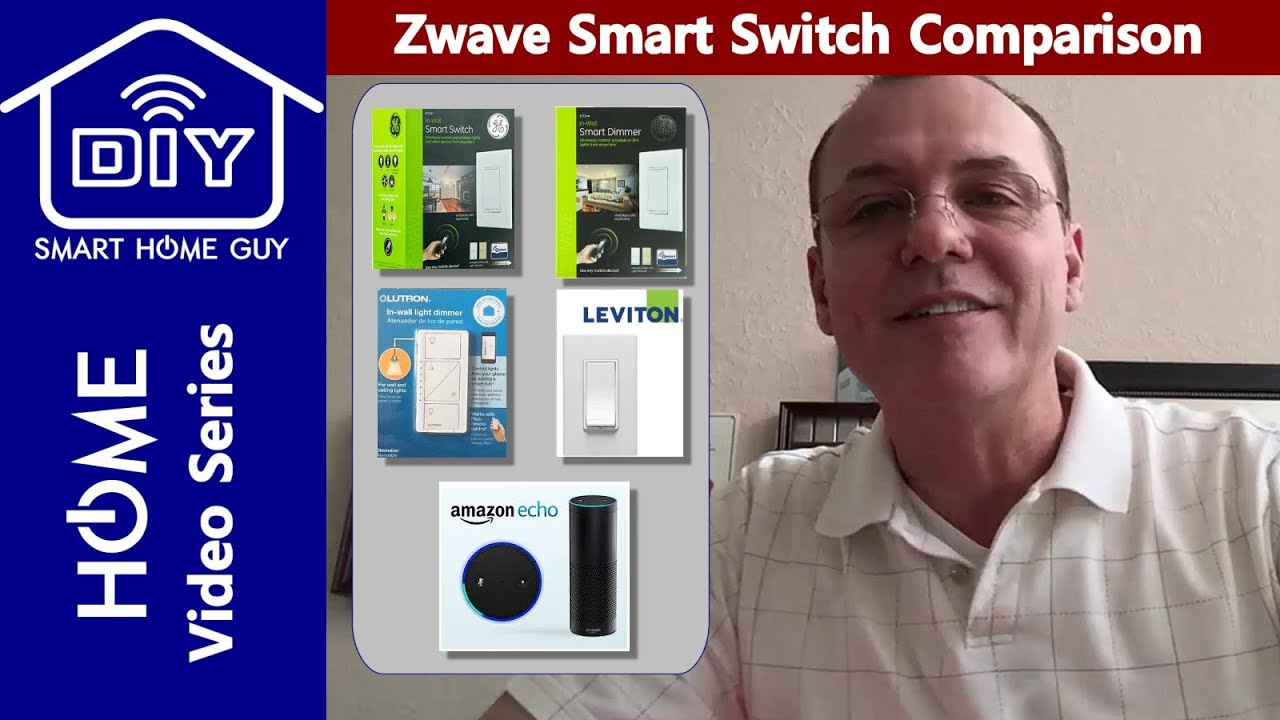 GE, Lutron, and Leviton Smart Wall Switch Review | DIY Smart Home ...