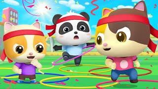 Who's Gonna Win? | Doctor Cartoon, Police Cartoon | Nursery Rhymes | Kids Songs | BabyBus