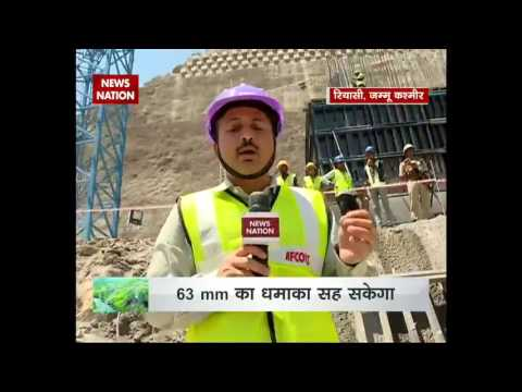 Construction of World's Highest Railway Bridge over Chenab River