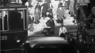 1931 yılında İstanbul sokakları...