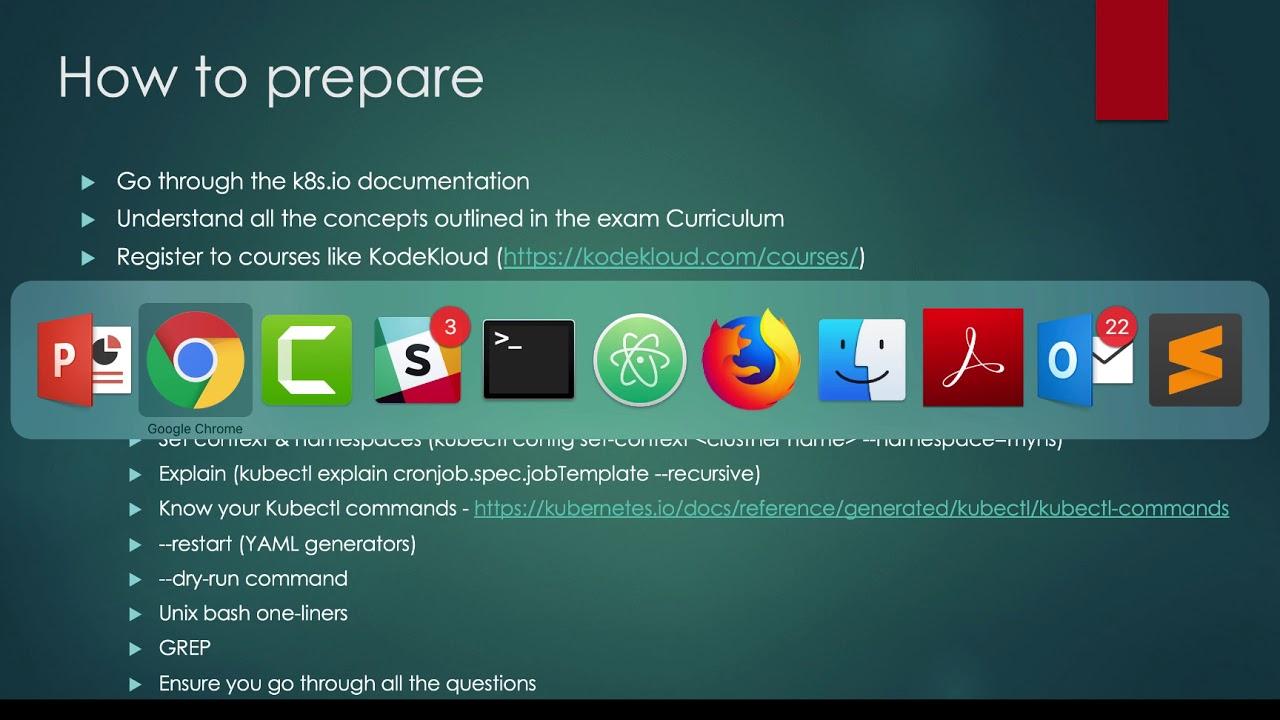 Tips On Preparing For Certified Kubernetes Application Developer Ckad