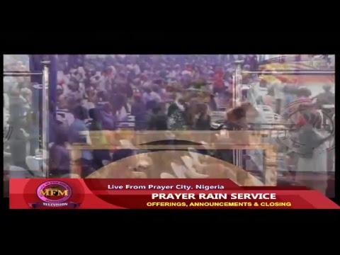MFM Prayer Rain Dec 22, 2017