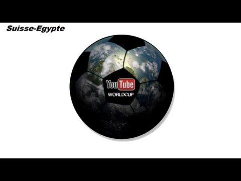 Youtube WorldCup: 8ème-Match2- Egypte VS Suisse: Un match assez serré