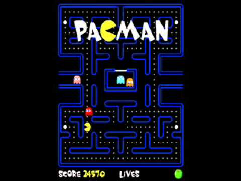 Pac Man Intro Music Youtube
