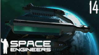Space Engineers Shipyard: Trident Commercial Cruiser