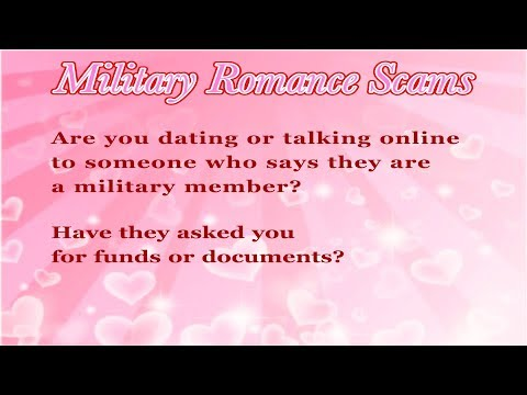 signs of scams on dating sites