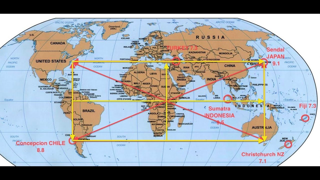 GodCode Matrix Of Major Discovery Of Earths MEGAQUAKE Ley - Ley lines in the us map