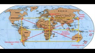 God-Code Matrix of 188 - Major Discovery of Earth's MEGA-QUAKE Ley-Line Energy Grid!  PART 1 & 2