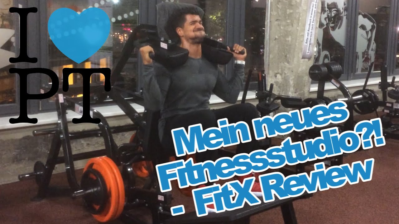 Mein neues Fitnessstudio?! - FitX Review! - YouTube
