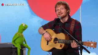 Ed Sheeran & Kermit Sing For RED NOSE DAY | What's Trending Now
