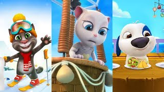 My Talking Hank vs My Talking Tom vs My Talking Angela - Great Makeover 2018
