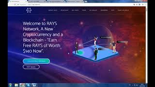 RAYS - криптовалюта, которая направленная на революцию в вашем криптовалютном мире
