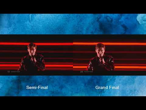 Benjamin Ingrosso - Dance You Off - Semi Final - Grand Final-Eurovision 2018 -Sweden