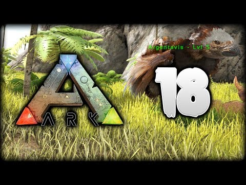 ARK Survival Evolved | Taming An ARGENTAVIS & Sarco Army | ARK Gameplay/Let's Play [S1 - Episode 18]