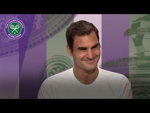 Roger Federer Wimbledon 2017 final press conference