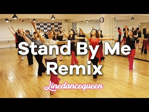 Stand By Me Remix Line Dance (Beginner) Junghye Yoon Demo & Count