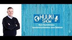 Huuki Show Ep. 6 - Haastattelussa eduskuntavaaliehdokas Janne Heikkinen (Kok. Oulun vaalipiiri)