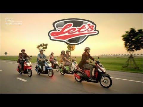 [HD] โฆษณา SUZUKI Let's - ซูซูกิ เล็ทส์ TVC