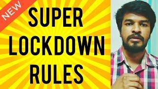 NEW SUPER LOCK RULES | Tamil | Madan Gowri
