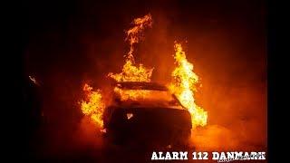 18.11.2019 - Ild i bil ved Herlev