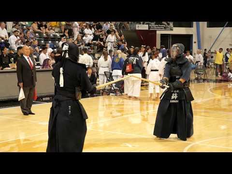 Kendo 2017 Nikkei Games 4 Dan Division: Round Robin 9