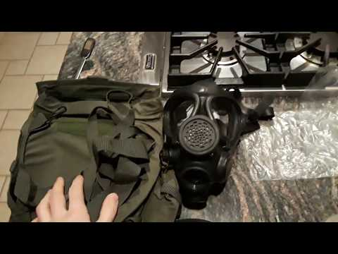 Israeli M15 NBC/CBRN mask – great for virus protection