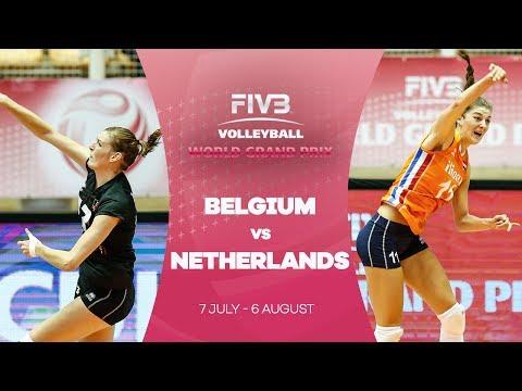 Belgium v Netherlands highlights - FIVB World Grand Prix