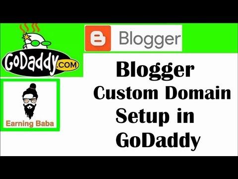 Blogger Custom Domain Setup for Godaddy Domain [ Tutorial step by step ]