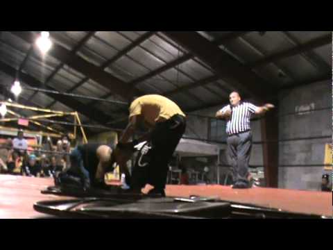 JC Bravo vs Kevin Knight in an I Quit Match