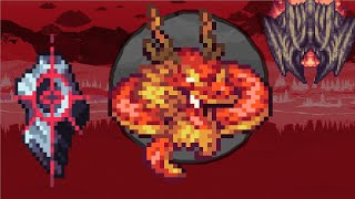 Terraria - Dragon Pow  vs Calamity Mod Boss Rush ll fail
