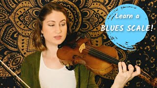 How To Play A BLUES SCALE On Violin