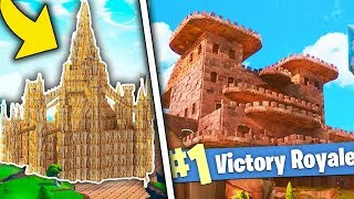 10 BUILDINGS YOU DON'T THINK REALLY EXIST! - Fortnite ItA Playground