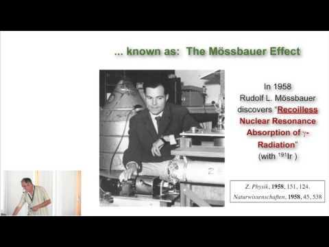 """(7) Eckhard Bill, """"Mössbauer Spectroscopy"""""""