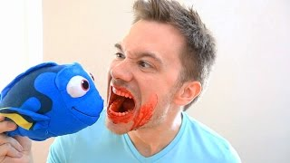 Dory Tries to Kill Me! (FINDING DORY)