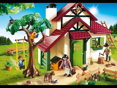 Playmobil 2017 maison forestire  YouTube