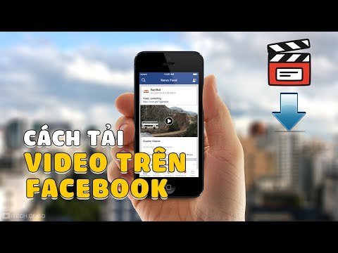 Cách tải Video Facebook về điện thoại iPhone 2021
