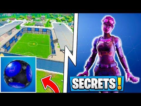 *ALL* Fortnite 5.41 Secrets! | Spikey Stadium, Dark Bomber Skin! ( Update ) thumbnail