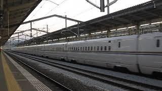 北陸新幹線 W7系W3編成 高崎駅通過 2019.05.05