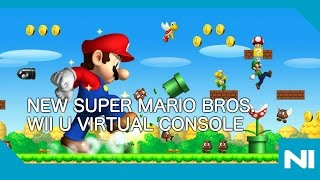 Download New Super Mario Bros Wii U Virtual Console Launch