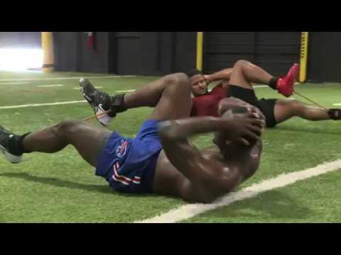 LeSean McCoy & Jerome Felton Do Off Season Training At Chip Smith Performance