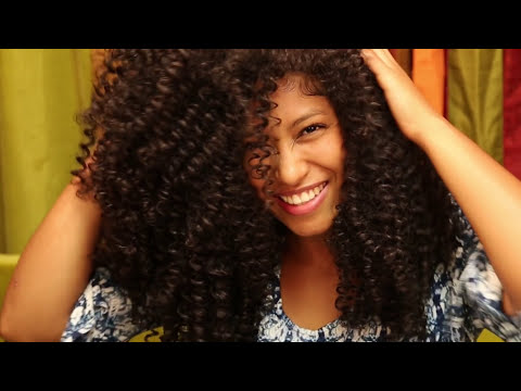 Natural Hair | Massive Spiral Curls | Perfect Flexi-Perm Rod Set