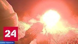 """Военная база РФ в Абхазии получила новейшие бронированные автомобили """"Тигр-М"""" - Россия 24"""